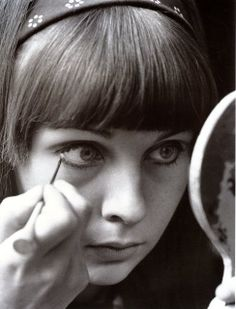 Chrissie Shrimpton: Mick Jagger's girlfriend from 1963-1966.  Said to have inspired: Under My Thumb (inspired after Mick finally managed to 'tame' the pushy Chrissie), Stupid Girl, 19th Nervous Breakdown, Play With Fire, and Back Street Girl.  Not a bad legacy, at that.