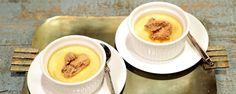 Maple Pots de Creme--keep for glazed pecans recipe -- The Chew The Chew Recipes, Pecan Recipes, Cooking Recipes, Pudding Recipes, Easy Desserts, Delicious Desserts, Dessert Recipes, Yummy Food, Candied Pecans Recipe