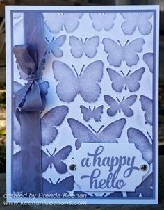 Stampin' Up! Fluttering Embossing Folder