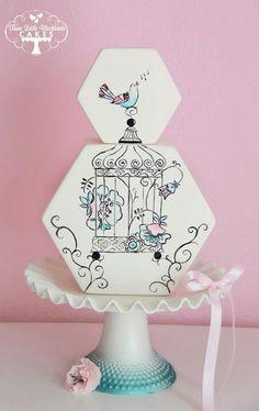 una #torta #nuziale molto originale e elegante! Perché nessuno ci ha pensato prima?