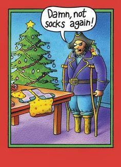 #ChristmasHumor | Funny Christmas Socks