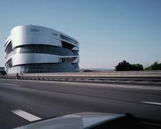 starting with the Mercedes-Benz Museum, Stuttgart, Germany, Ben van Berkel of UNStudio (photo © Brigida González.)