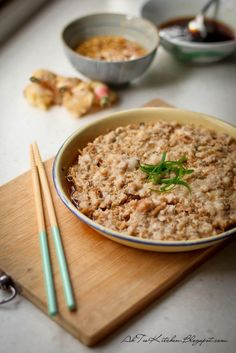 古早味-梅菜蒸豬肉 Steam Minced Pork with Mui Choy