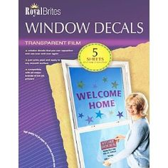 DIY Static Cling Window Decals Just Print Not Sure - Office depot window decals instructions