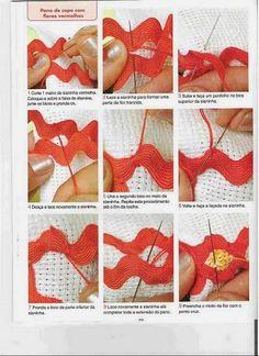 Artesanato com amor...by Lu Guimarães: Revista Bordados em Sianinha n 3