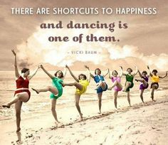 Kuvahaun tulos haulle vicki baum there are shortcuts to happiness and dancing is one of them