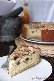 karolina-azzaro: Tvarohovo višňový koláč Azzaro, Tiramisu, Cheesecake, Ethnic Recipes, Desserts, Food, Cakes, Tailgate Desserts, Deserts