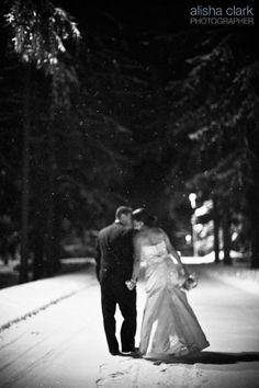 Winter Wedding - favorite - so cute