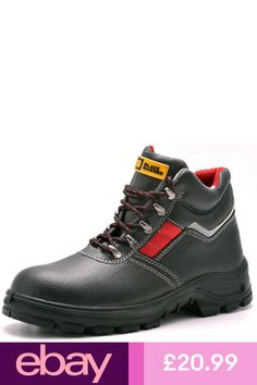 Black Hammer Boots Clothes, Shoes & Accessories Steel Toe, Types Of Shoes, Leather Shoes, Work Wear, Hiking Boots, Shoe Boots, Lace Up, Cap, Mens Fashion