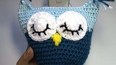 Crochet Owl Pillow by Yolanda Soto Lopez