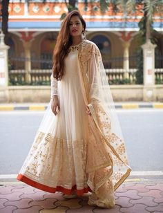 By far the most Indian ensemble around, the anarkali is the most loved Indian outfit by women. We are sharing with you some very pretty Anarkali outfits that we saw last year. Preeti Pooja Preeti Pooja is the official writer at LookVine.