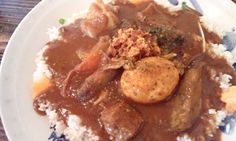 """Special curry  (""""Nasu oyaji"""" in Tokyo)"""