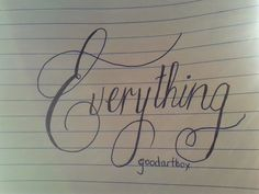 Day 28-Every thing #write31days