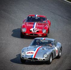 The Ferrari 250 GTO 55th Anniversary Tour 2017 included a couple of free laps on Ferrari's Autodromo Internazionale del Mugello. Seen here is Charlie Nearburg in his 250 GTO s/n 3943GT chasing Aaron Hsu behind the wheel of s/n 4153GT, owned by the Gläsel Family Trust.  Autodromo Internazionale del Mugello, September 27, 2017  #ferrari #ferrari70 #ferrari250gto ##ferrari250gtotour #250gtotour #250gto #55years #gto55 #ferrari250 #ferrari250gt #gto #granturismoomologato #tuscany #toscana #epic…