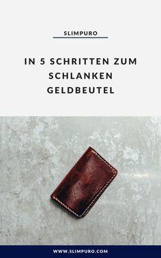 Portemonnaie Kreditkarteninhaber RFID Blocker Kreditkarten-Etui mit Geld-Klammer Geldb/örse f/ür M/änner Platz f/ür 8 Karten  Geschenkbox Slim Minimal Wallet Echtes Leder Herren-Geldbeutel