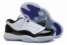 save off 27d59 db54a Fashion Air Jordan XI (11) Low  Concord  White Black-Concord -