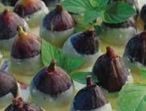 White Chocolate Covered Figs by Soup to Nuts Caterers