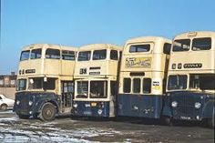 withdrawn WM PTE buses, 1978
