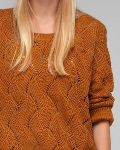 Wave Textured Sweater - Need Supply