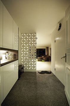 partition between kitchen and living room   interior design