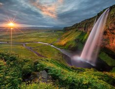 """5,343 Likes, 85 Comments - Iurie Belegurschi (@iuriebelegurschi) on Instagram: """"Seljalandsfoss is one of the best known waterfalls in Iceland, is located in the South Iceland…"""""""