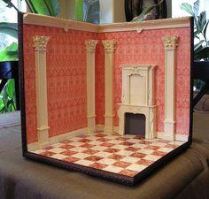 1:12 scale Corner Room Box | Flickr - Photo Sharing!