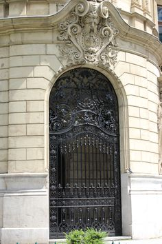 Doors of Budapest, Hungary - photograph by Erika Kiss