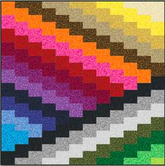 The bargello technique can be used to create backgrounds for applique, to showcase landscape prints, and to use up your stash. In a previou...
