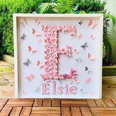 Paper Butterflies, Butterfly, Nursery Wall Art, Wall Art Decor, Collage Art, Paper Art, Education, News, Girls