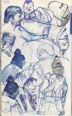 buttnekkiddoodles.com    I wish my sketchbook looked half this good
