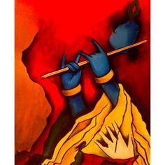 A Painting of Shree Krishna