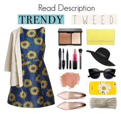 """""""Trendy Tweed/Read Description!!!"""" by cz2004 on Polyvore featuring Alice + Olivia, Lancôme, Marc Jacobs, MAC Cosmetics, Henri Bendel, Topshop, Kate Spade, Aéropostale, women's clothing and women"""