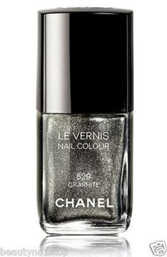 Chanel Le Vernis Nail Polish - Graphite #529