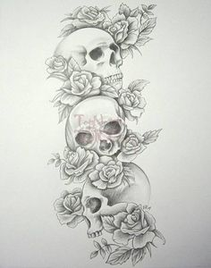 Skull tattoo meanings can vary greatly depending on the skull tattoo design and the beliefs of the wearer's culture or religion. In Christianity, for example, skull tattoos often symbolize eternity, or the human remains that are left behind as the soul moves on.