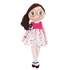 "My Friend Huggles - Rubi 34"" Soft Doll (Original Collection)"