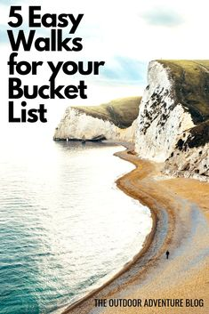 If you're new to hiking or you're looking for some easy walks to enjoy during the summer months then here are a few of our favourites. Get Outdoors, The Great Outdoors, Lulworth Cove, South West Coast Path, Travel Goals, Travel Tips, Best Hikes, Lake District, Amazing Destinations