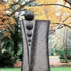 Moderner Grabstein mit Kugeln - Carlando