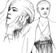 Kristina Bazan, Sketch, 2014. Kristina Bazan, Sketch, Illustration, Art, Sketch Drawing, Art Background, Kunst, Sketches, Illustrations