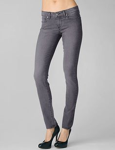 Paige skyline skinny in granite. Once again, love these but they are from pre-pregnancy and don't fit right now.