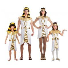 Groupe Égyptiens Dorés #familledéguisement #déguisementsgroupes #nouveauté2017