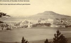 Dundee Law c Local History, Family History, Old Pictures, Old Photos, Dundee City, West End, Old City, Historical Photos, Vintage Postcards