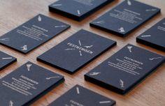 Good design makes me happy: Project Love: Festningen Brand Identity