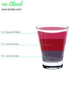 Recette Cocktail 100 ALCOOL