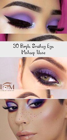 30 Purple Smokey Eye Makeup Ideas  Best Makeup Blue Smokey Eye Eye Ideas Makeup purple Smokey Purple Smokey Eye, Smokey Eye Makeup, Eye Pictures, Smokey Eye Tutorial, Full Face Makeup, Soft Purple, Blue Makeup, Green Eyes, Best Makeup Products
