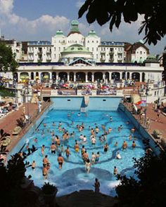 Gellert Spa outdoor pool