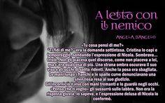 La fiducia è un atto di coraggio... A LETTO CON IL NEMICO di Angela D'Angelo http://www.amazon.it/letto-con-nemico-Youfeel-apostrofo-ebook/dp/B00S6D0F6C/