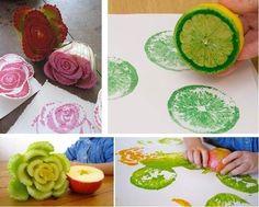 Pinta tus paredes con frutas y verduras