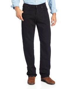 7 For All Mankind Men's Austyn In Straight Leg Jean, Black Out, 29