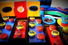 superhero birthday party - Google Search