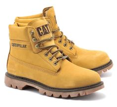 New Mens Caterpillar CAT Watershed Honey Waterproof Walking Boots Size 6-12 UK